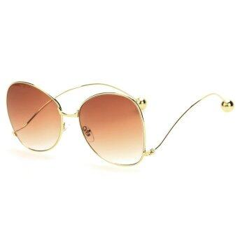 Slim Frame Cat Eye Stylish Sunglasses - intl