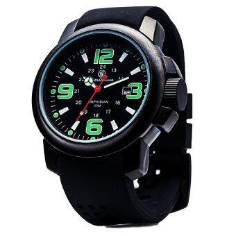 ซื้อ/ขาย Smith and Wesson Watch นาฬิกาข้อมือตัวเรือน ไททาเนียม Amphibian Series แสดง เวลา-วันที่ สายข้อมือยางอย่างดี