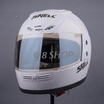 หมวกกันน็อค SNELL INDEX รุ่น RYUKI (สีขาว)