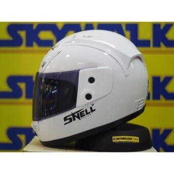 SNELL หมวกกันน็อค SNELL รุ่น RUYKI :Free size: สีขาว