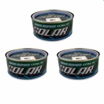 SOLAR ยาขัดหยาบ 500กรัม กระป๋องเขียว เนื้อละเอียด (3 units)