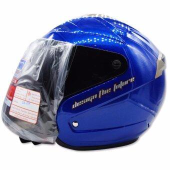อยากขาย SPACE CROWN หมวกกันน๊อค รุ่น VISION สีน้ำเงิน