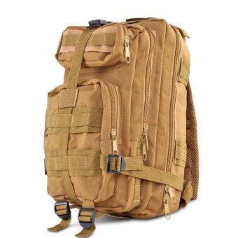Sport กระเป๋าเป้เดินป่า เป้สะพายหลัง 3P Backpack Bag 25L สีทราย