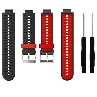 Sport Silicone Wrist Band Bracelet Strap for Garmin Forerunner 220230 235 620 630 735XT - intl