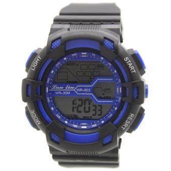 Sport Watch นาฬิกาข้อมือผู้หญิงและผู้ชายสไตล์สปอร์ต สายยาง ระบบ Digital : SPWO-001-005