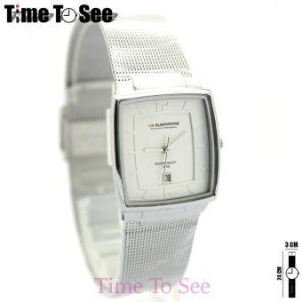 ซื้อ/ขาย นาฬิกา Submariner (Jubile) นาฬิกาข้อมือสุภาพสตรีและเด็ก(12+) ทรงกลม/เรือนเงิน/สายสแตนเลสเงิน ระบบเข็ม มีวันที่