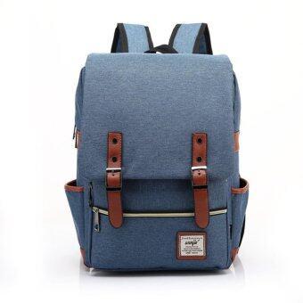 Sun กระเป๋า กระเป๋าเป้ Backpack MB01-สีฟ้า