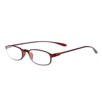 5afc83814b2 ... Sunshop Flexible Light Comfortable Presbyopic Border ReadingGlasses Tea  Color Strength 1.0 - intl - 4 ...