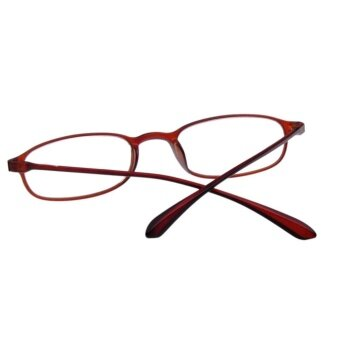 Sunshop Flexible Light Comfortable Presbyopic Border ReadingGlasses Tea Color Strength 1.0 - intl