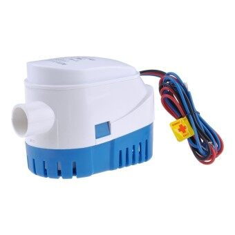 Sunyoo- 12V 24V Boat Marine Automatic 1100GPH Auto Bilge Water Pump Float Switch 29mm -12V - intl
