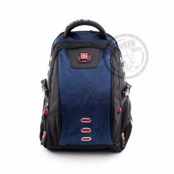 Swiss Gear Backpack KW128/18 /NB - Navy Blue Big Sizeของแท้ 100% (Warranty leafletถูกต้องตามกฎหมาย)