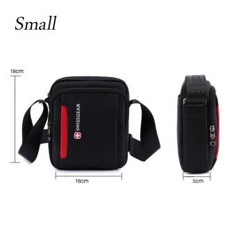 SwissGear SA5008 Model Small Leisure Travel Business Outdoor One-shoulder Bag (Black)