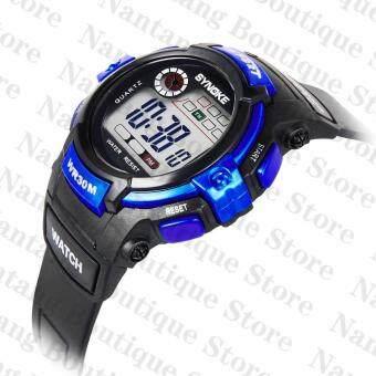 Synoke 99569 นาฬิกาข้อมือนาฬิกานักกีฬาว่ายน้ำด้วย led แบล็คไลท์ (image 3)