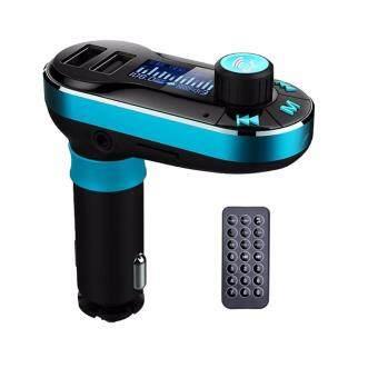 T66 Dual USB Car Charger Car MP3 Player Supports Infrared Remote Operation AUX Cigarette Lighter เครื่องเล่น Mp3 บลูทูธ แบบมีรีโมทควบคุมพร้อมจอภาพ รุ่นท็อป