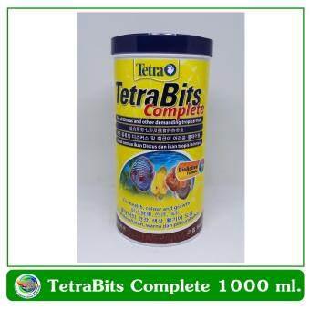 Tetra Bits Complete 1000 ml อาหารปลาชนิดเกล็ด Granules