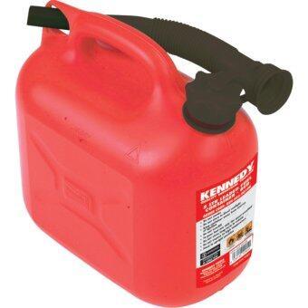 ถังน้ำมันสีแดง ขนาด 5ลิตร Kennedy 5ltr Fuel Container - RED KEN5039010K