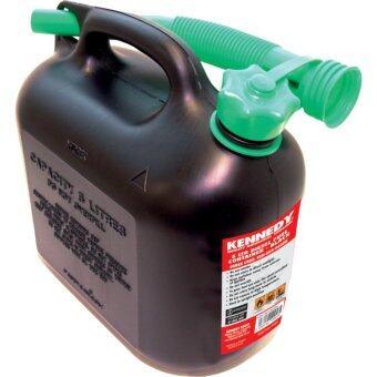 ถังน้ำมันสีดำ ขนาด 5ลิตร5ltr Fuel Container - BLACK KEN5039030K