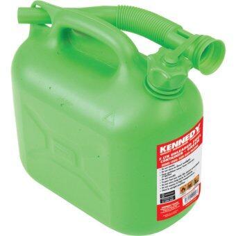 ถังน้ำมันสีเขียว ขนาด 5ลิตร Kennedy 5LTR UNLEADED FUEL CONTAINER - GREEN KEN5039020K
