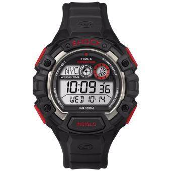 ประเทศไทย Timex Expedition นาฬิกาข้อมือผู้ชาย รุ่น T49973 - Black/Red