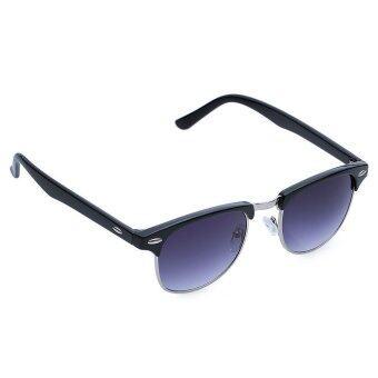 TimeZone Stylish Women's Full Frame Cool Sunglasses (Silver) - 4