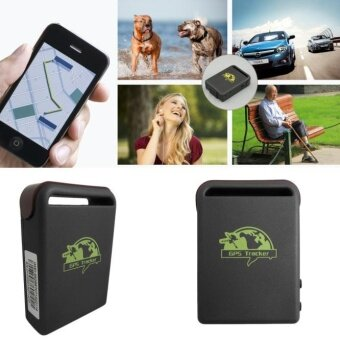 TK102A Mini Vehicle GSM GPRS GPS Tracker Car Vehicle Tracking Locator w/ Charger - intl