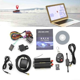 TK103B Car GPS Tracker GSM GPRS Tracking System Motorcycle Alarm Location Device - intl