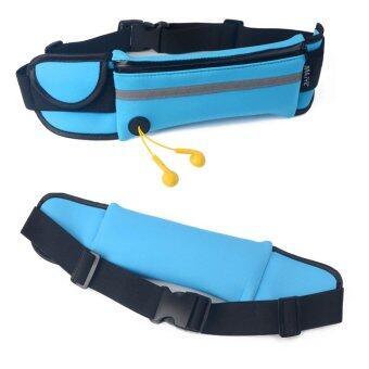 TravelGear24 กระเป๋าคาดเอว Sport Waist Bag (Orange/สีส้ม) - 4