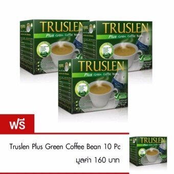 Truslen Plus Green Coffee Bean 10 Pc. (3 แถม 1)