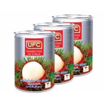 ufc 565 3 1499919485 62834723 e36a9202299f0b9fa7bc5b2755d43c6b product ขายลด UFC ยูเอฟซี เงาะในน้ำเชื่อม 565 กรัม  แพ็ค 3 กระป๋อง