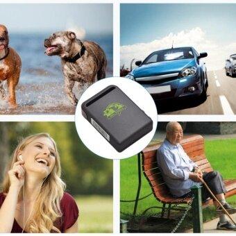 UINN Portable GPS Tracker TK102B GPS SMS GPRS SOS For IosAppW/Remote Control black 1# - intl - 3