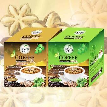 กาแฟถั่วดาวอินคา รสกลมกล่อม และรสเข้มข้น UMB Sacha Inchi Coffee Mix & Double x2