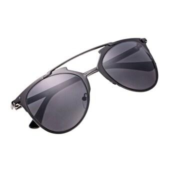 455034b2cb5 โปรโมชั่น Unisex Mirror Lens Sunglasses Glasses Eyewear Metal Frame ...