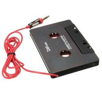 Universal Black Audio Car Cassette Tape Adapter Transmitters Converter For MP3 CD DVD Player For Clear Sound Music - intl