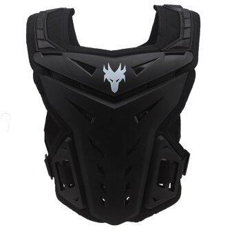 เสื้อป้องกันสำหรับขี่มอเตอร์ไซต์ Universal Black Protective Protective Armor สำหรับ Motorcycle Motorbike Dirt Bike