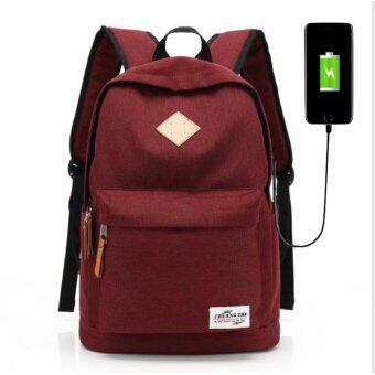 กระเป๋าสะพายหลัง กระเป๋าเป้เดินทาง กระเป๋าเป้ผู้ชาย กระเป๋าโน๊ตบุ๊คกระเป๋าเป้เท่ๆ มีช่อง USB ชาร์จโทรศัพท์มือถือ