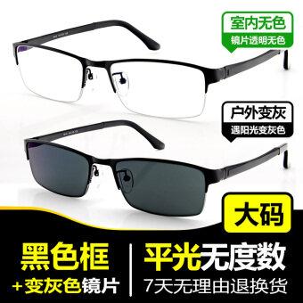 เปลี่ยนสีชายรุ่น UV รังสีดวงอาทิตย์กระจก electrochromic แว่นตา