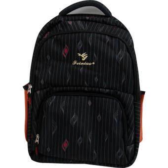 Van Burgh กระเป๋าเป้ กระเป๋าสะพายหลัง กระเป๋าเป้เดินทาง กระเป๋าโน๊ตบุ๊ค 18 นิ้ว รุ่น FEINIAO - A (สีดำ) - 2