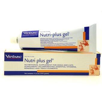 Virbac Nutri-Plus Gel 120.5g เจลอาหารเสริมสำหรับสุนัข และแมว