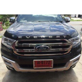 Visa ตัวนูนติดรถยนต์ 3D emblem Ford Everest 3D Type1 (Chrome) - 4