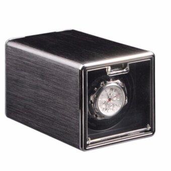 Viwiays อลูมิเนียมสีดำนาฬิกาอัตโนมัติแบบเดี่ยวแสดงกรณี มอเตอร์ Japan