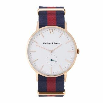 ราคา Wardour and Brewer RoseGold Red-Blue Nato
