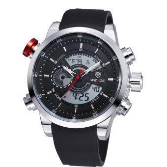 แนะนำ Weide WH3401-1C นาฬิกาผู้ชาย สายซิลิโคน