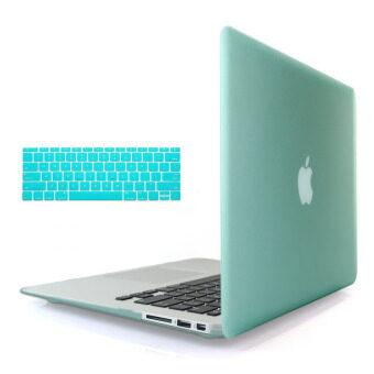 ต้องการขาย Welink 3ใน1 ด้าน Apple MacBook Air 33.02ซมเคส/นิ่ม-แข็งพลาสติกฝาเคสTouch+ป้องกันฝุ่นปลั๊ก+แป้นพิมพ์ปกสำหรับ Macbook Air 33.02ซม [รุ่น:A1369/A1466] (สีเขียว)