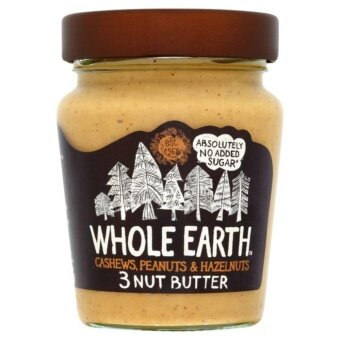Whole Earth 3 Nut Butter (Cashews Peanuts and Hazelnuts) 227g