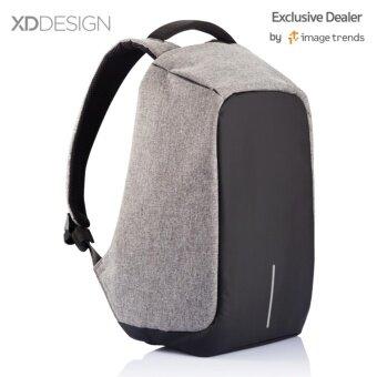 XD Design กระเป๋าเป้นิรภัยแล็ปท็อป Bobby Bag (สีเทา)