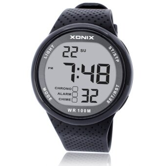 XONIX Watches Luxury Men Unisex 100M Relogio Masculino LED Digital Diving Reloj Hombre Sport Hours Sumergible Dress Wrist Watch - intl
