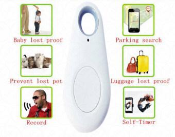 YHL อุปกรณ์ป้องกัน ค้นหา แจ้งเตือน ของหาย โจรกรรม Smart Bluetooth 4.0 Anti lost / Theft Alarm iTag GPS Track and Finder for Bag Key Phone Baby Pet (สีขาว)