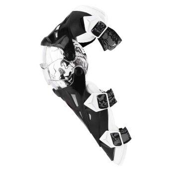YOSOO 2pcs Motorcycle Knee Pads Breathable Kneelet Protective Gear Set White - intl - 2 ...
