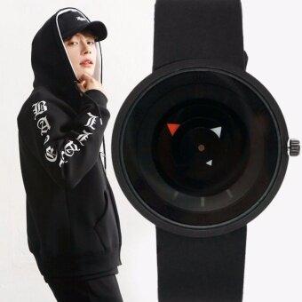 Zazzy Dolls นาฬิกาข้อมือ Modern Quartz Rubber Wristwatch สีดำ สาย Rubber รุ่น NY-0003-BK-BK