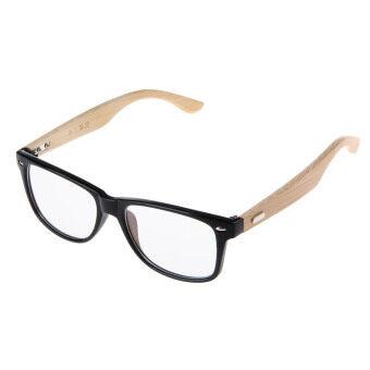 ZUNCLEแฟชั่นการป้องกันรังสีคอมพิวเตอร์หูฟังพลาสติกยางไม้กรอบแว่นตาเลนส์